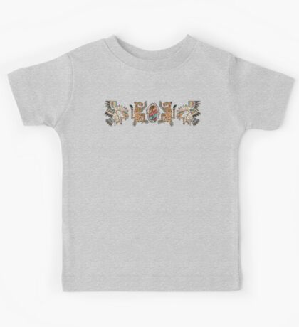 Aztec Eagle, Ocelot, Shield Kids Clothes