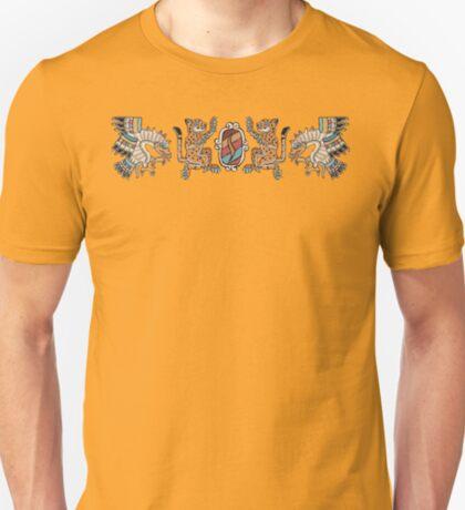 Aztec Eagle, Ocelot, Shield T-Shirt