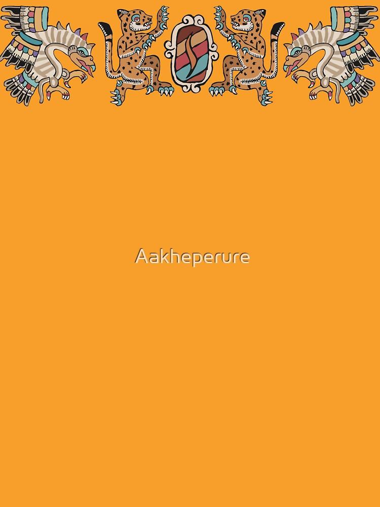 Aztec Eagle, Ocelot, Shield by Aakheperure