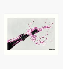 Pop Bottles Art Print