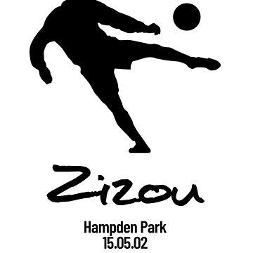 Zinedine Zidane by RedAngelDesigns