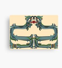 Quetzacoatl: The Feathered Serpent Canvas Print