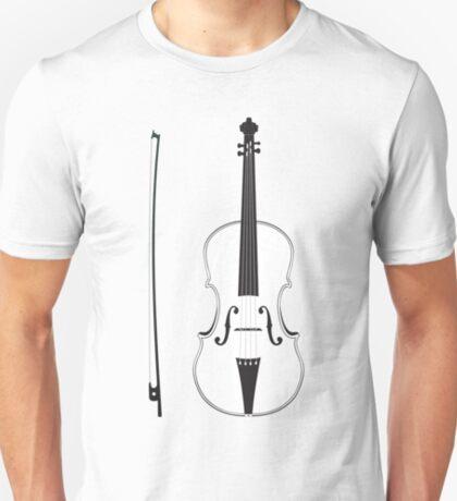 Violine Silhouette T-Shirt
