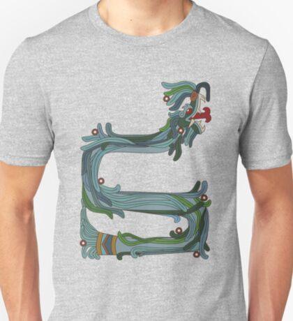 Quetzacoatl: The Feathered Serpent T-Shirt