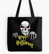 Happy Halloween Skull Tasche