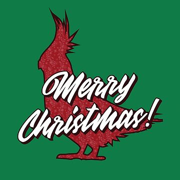 Christmas Bird by BlueRockDesigns
