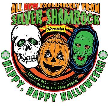 Silver Shamrock  Halloween Ad by superiorgraphix