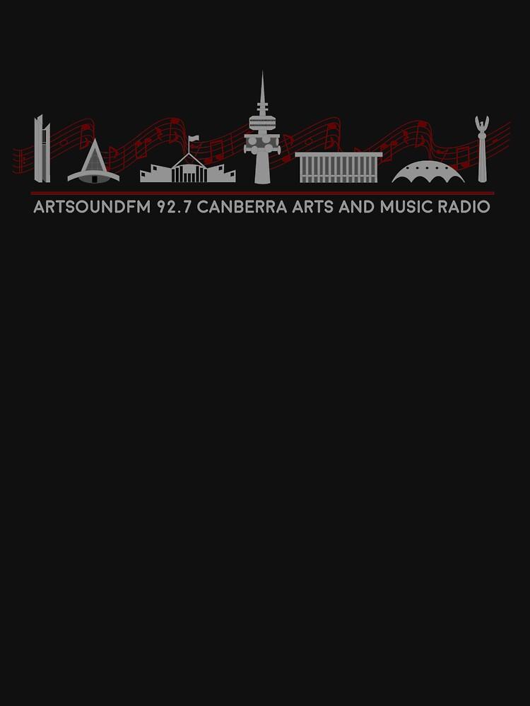 ArtSound FM Fundraiser COLOUR - USE ON DARKS by ArtSoundFM