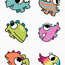 Baby Monsters - The Whole Family by Meep