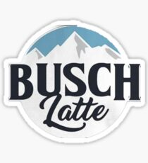 Busch latte Sticker