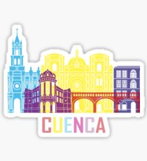 Cuenca Ecuador City Sticker
