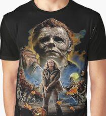 Halloween 2018 Grafik T-Shirt