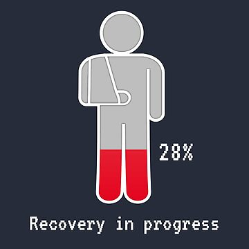 Recovering In Progress (v2) by BlueRockDesigns