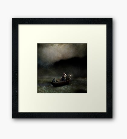 Charon's Lullaby Framed Print
