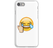 middle finger emoji iphone quot middle finger laughing emoji quot stickers by nsty redbubble 15684