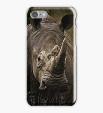 White Rhino - Face to Face iPhone Case/Skin