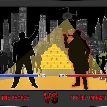 The People VS The Illuminati (Arcade Game). by ModernCultureNW