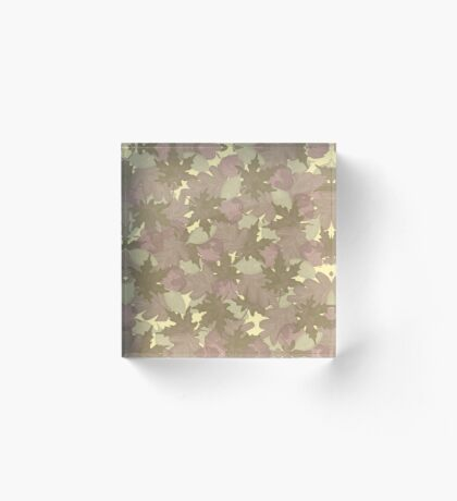 Soft Fall #redbubble #fall Acrylic Block