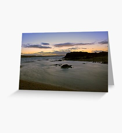 Another Skerries evening Greeting Card