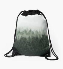 High And Low Drawstring Bag