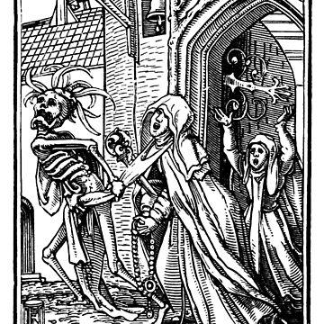 Holbein Danse Macabre 15  by BestPaintings