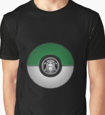 Coffe Pokeball Graphic T-Shirt