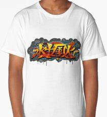 Chinese Graffiti T-shirt long