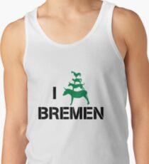 I Love Bremen Town Musicians  Tank Top