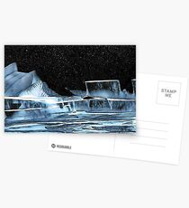 Icy Slopes Postcards