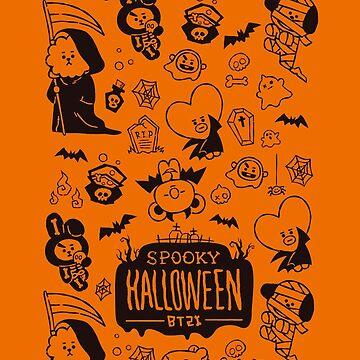 BT21 Spooky Halloween by ZeroKara