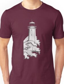 Nautical Chrome Mighty Lighthouse Unisex T-Shirt