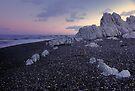 Sunset at Ward Beach Marlborough by Paul Mercer