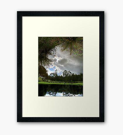 The Pond at Mavis's Framed Print