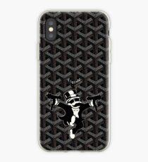 black monopoly goyard iPhone Case