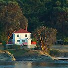 Mayne Island Lighthouse by Terry Krysak