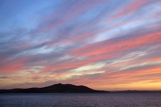 October sunset by Agnes McGuinness