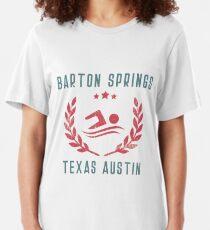 Barton Springs Texas Austin Slim Fit T-Shirt