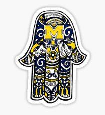 Michigan Hamsa Sticker