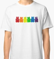 Rainbow Of Gummi Deliciousness  Classic T-Shirt