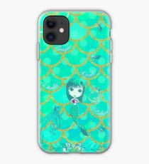 Inspired by You - Emerald Mermaid, 3rd of 4 iPhone Case
