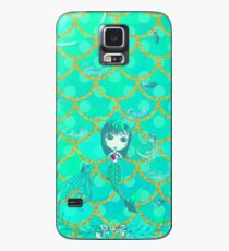 Inspired by You - Emerald Mermaid, 3rd of 4 Case/Skin for Samsung Galaxy