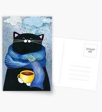 Rainy Day Coffee  Postcards