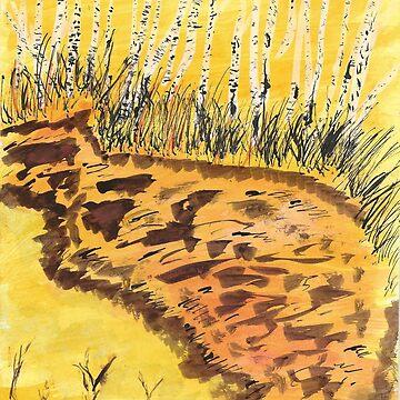 muddy trail by wormink