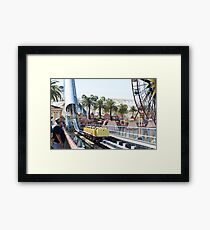 California Screamin' Framed Print