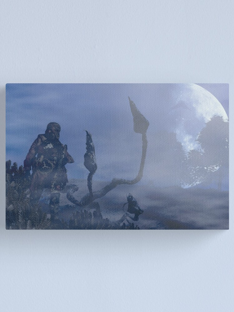 Alternate view of dark creatures in the night Canvas Print
