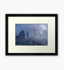 dark creatures in the night Framed Print