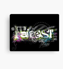 Fairest of them all... Canvas Print