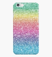 Rainbow Ombre Glitter iPhone 6s Case