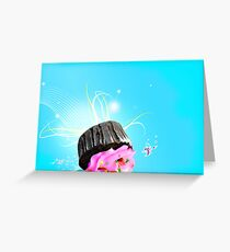 OOPS! I dropped my cupcake! Greeting Card