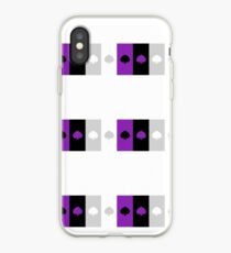 ASEXUAL FLAG ASEXUAL ACE OF SPADES ASEXUAL T-SHIRT iPhone Case